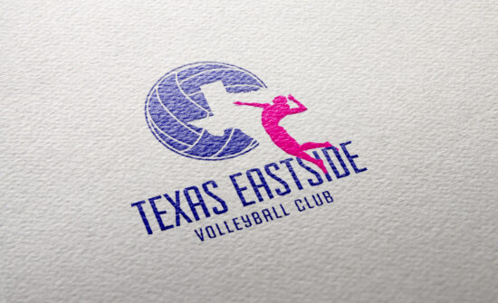 Texas Eastside Volleyball Logo