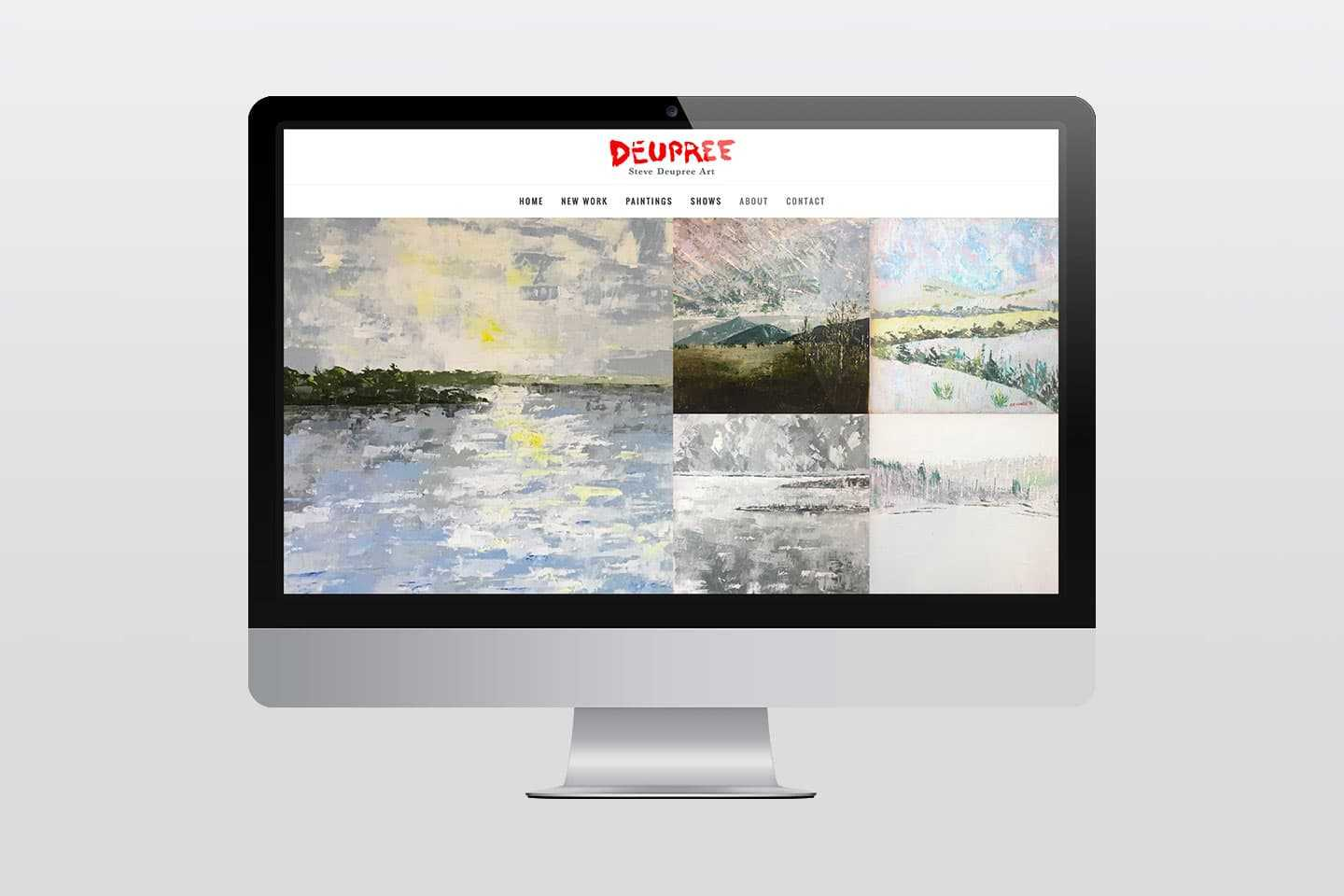 Steve Deupree Art Website